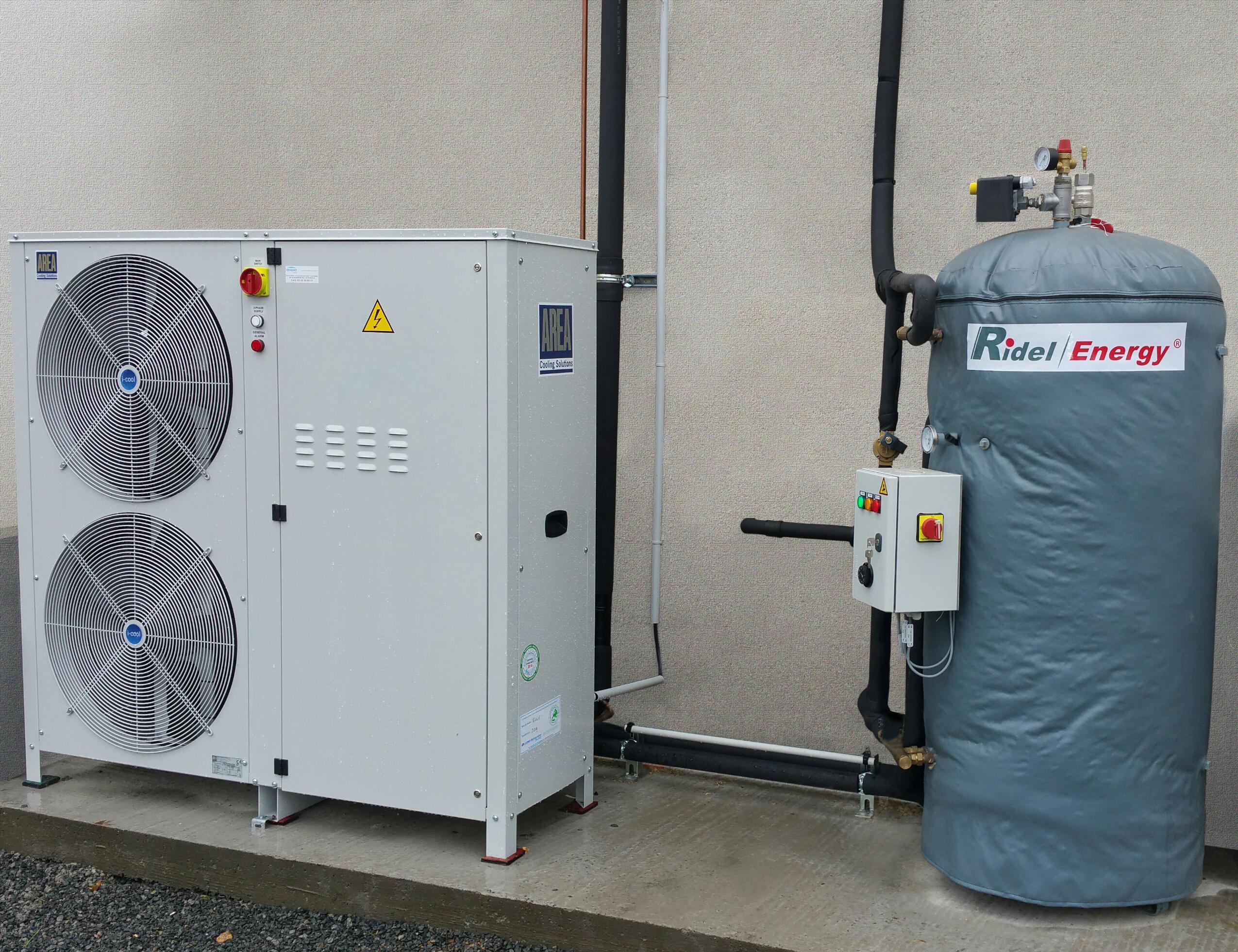 Recuperateur de chaleur pour commerce de proximite Ridel Energy