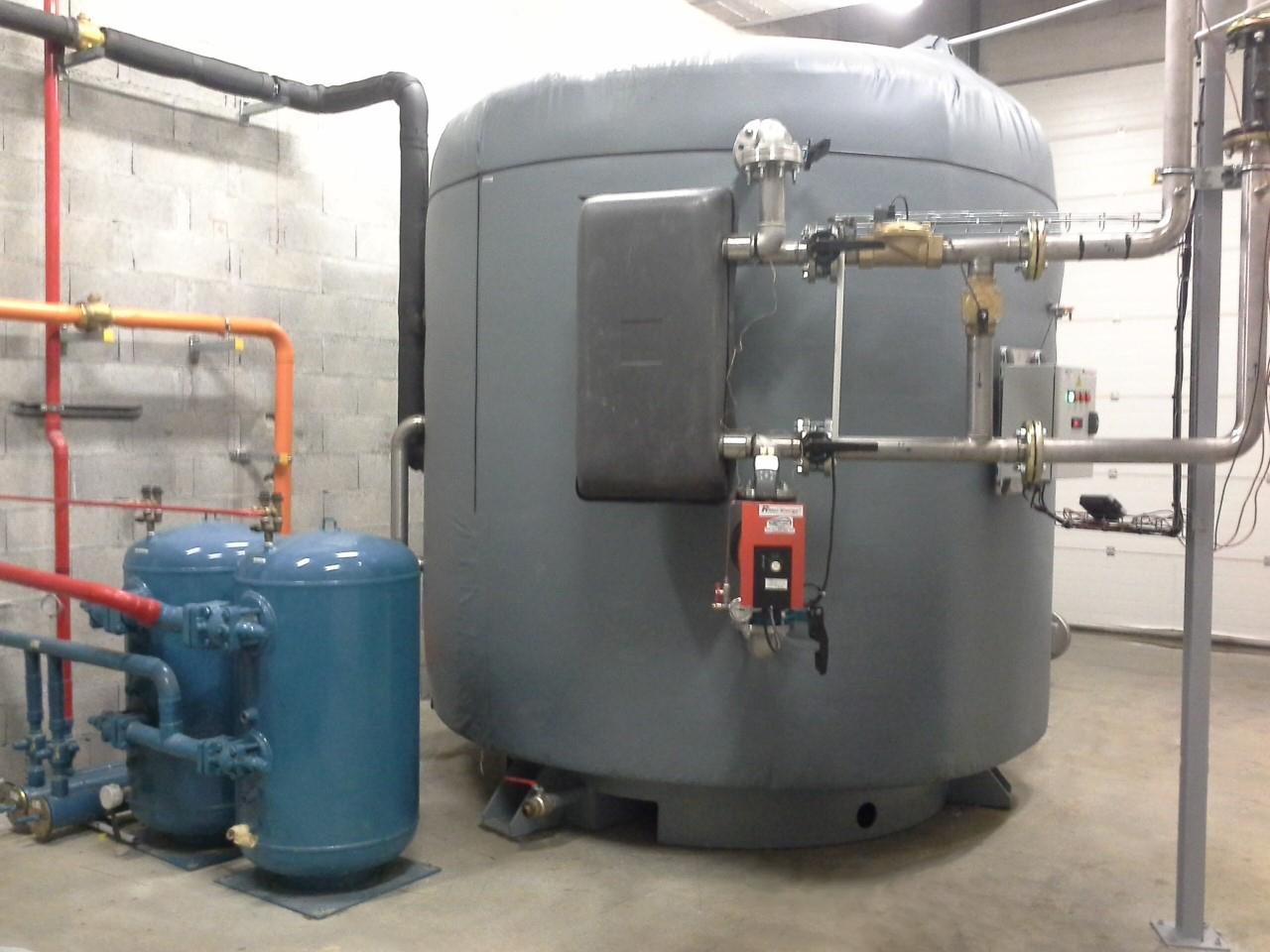 Recuperateur de chaleur pour grande et moyenne surface RecRidel Ridel Energy