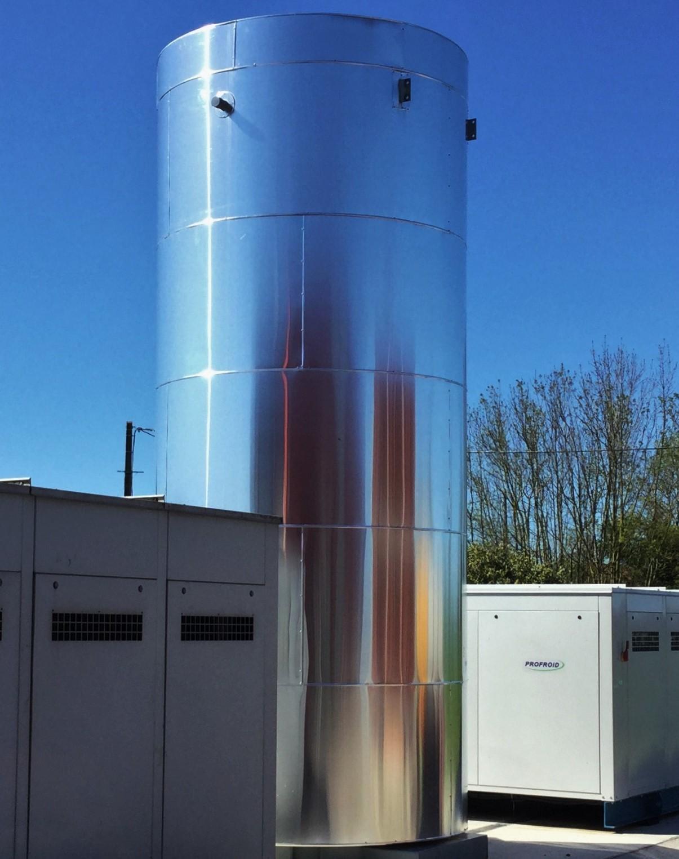 Recuperation de chaleur sur groupe frigorifique Rec Ridel Ridel Energy