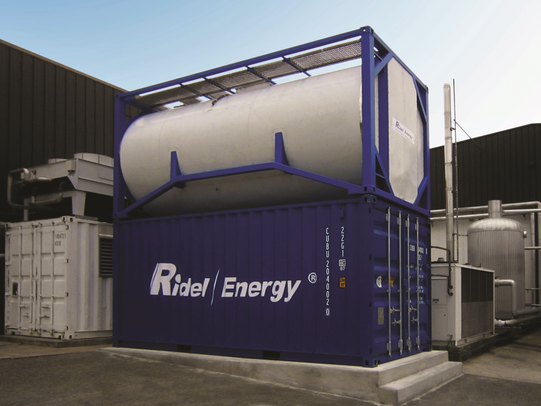 Recuperation de chaleur groupe froid Industrie Ridel Energy
