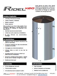 Ridel Xeo ice water tank