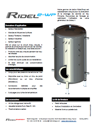 electrical water heater Ridel/Ewp