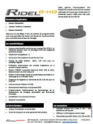 DHW gas heater Ridel/G-kd