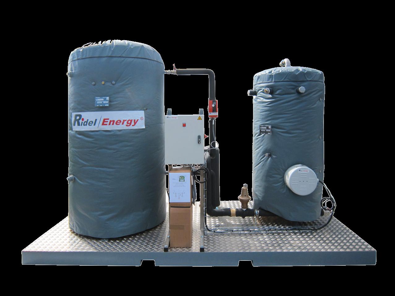 Solution Complete pour production d'eau chaude RidelPack RidelEnergy