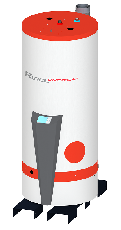 Domestic hot water production Ridel/G-kd condensing gas-fired high efficiency hot water heater