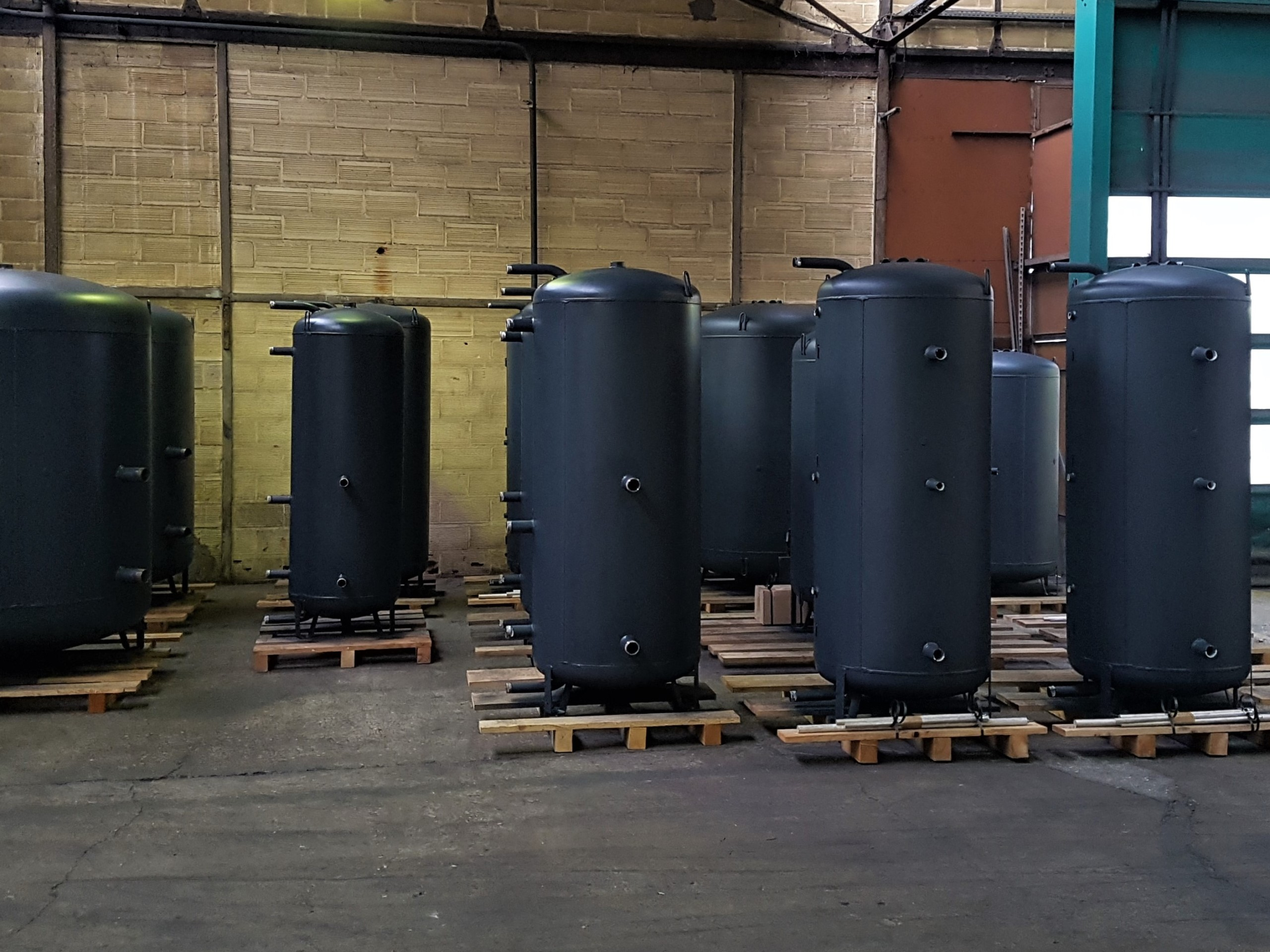 Energy storage and buffer tanks Ridel-Energy