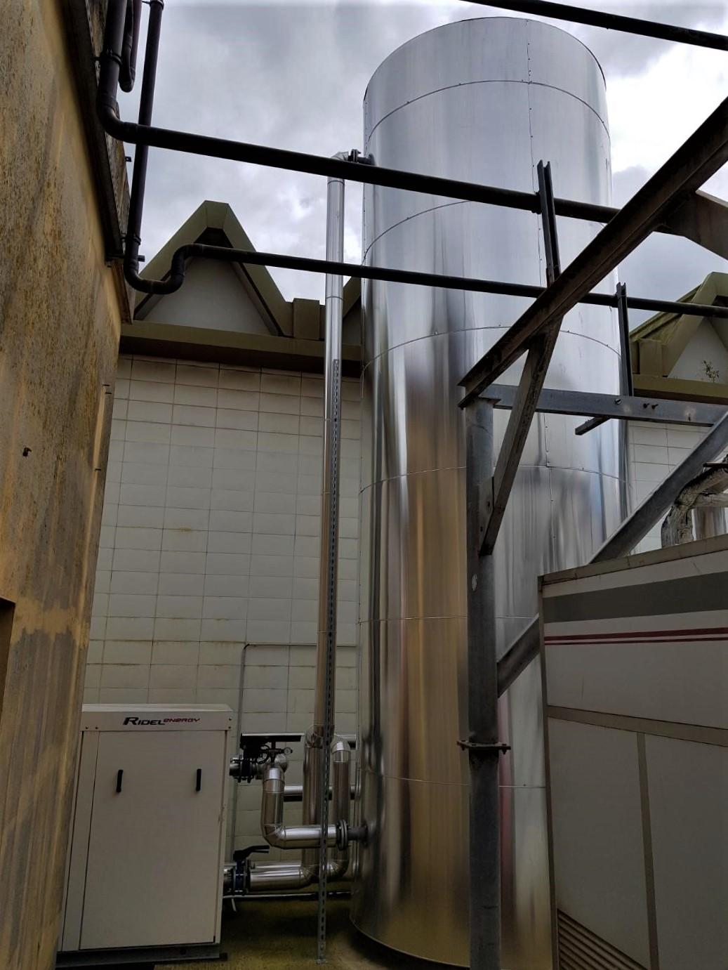 Récupération de chaleur sur installation frigorifique