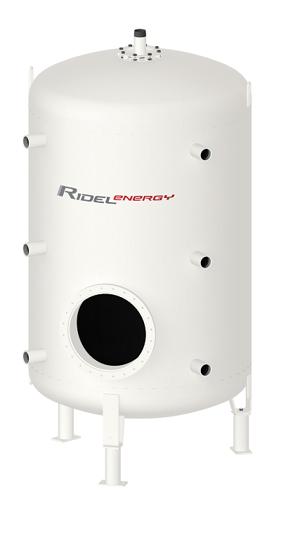 Domestic hot water production Ridel-Energy
