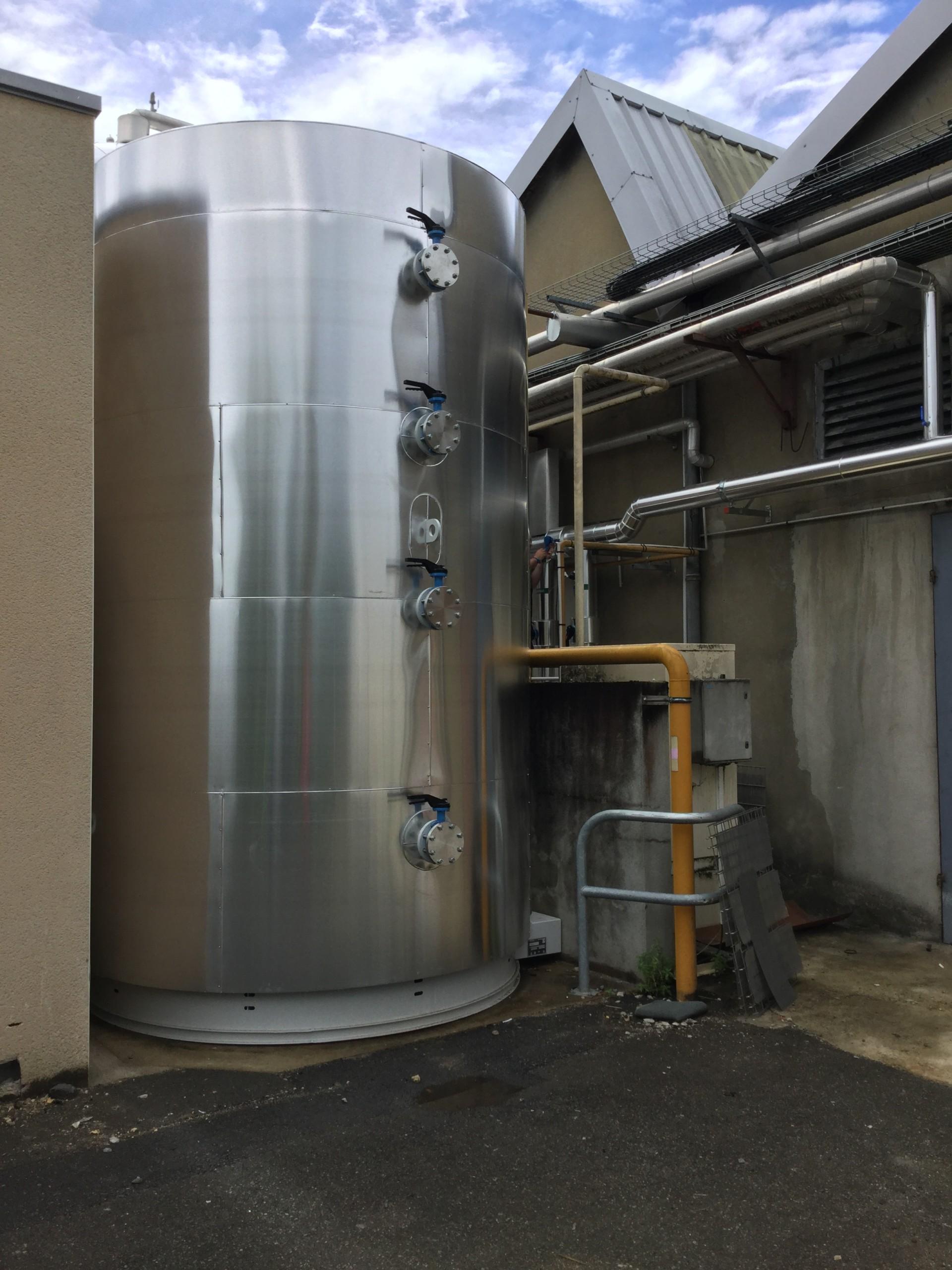 Ridel-Rec Récupération de chaleur sur groupes frigorifiques Industrie agroalimentaire