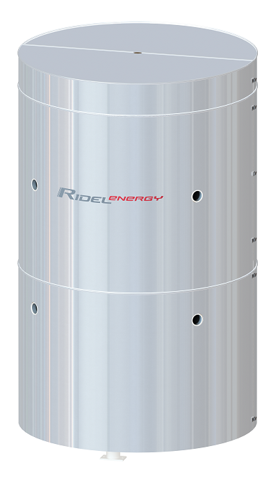 Energy storage and buffer tanks Ridel-Energy chilled water